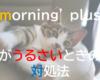 mornin' plus (モーニンプラス)がうるさい?設定ですっきり解決!